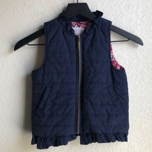 🌵Copper Key Quilted Vest Size Girl 6/6x